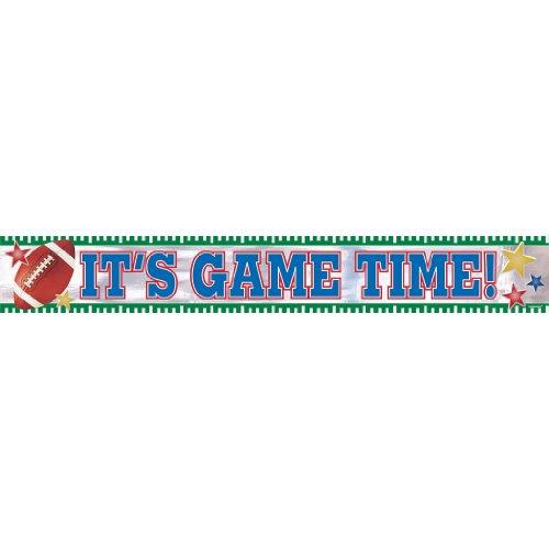 Football Banner 9ft