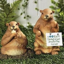 Groundhogs (Sold by 1 pack of 2 items)