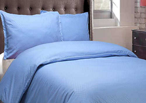 Natural Comfort Sausalito Nights Duvet Cover Set, Queen, Blue front-951529