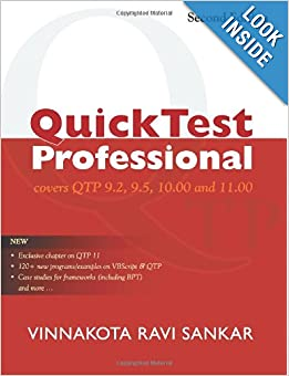 QuickTest Professional: Covers QTP 9.2, 9.5, 10.00 and 11.00