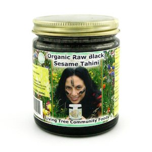 Raw Organic Black Tahini from Living Tree Community Foods