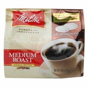 Melitta Coffee Pods (Soft) - Medium Roast - 18ct Bag