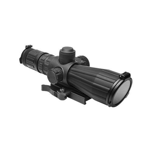 Ncstar 3-9X42 Comp W/Red Laser Bl Ill Md - Srtm3942G