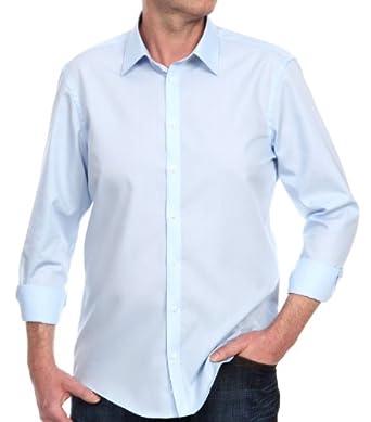 Venti Herren Businesshemd Slim Fit 001480/102, Gr. 36, Blau (102 bleu)