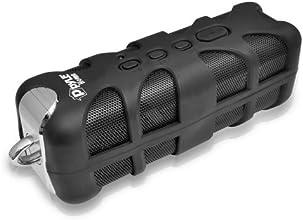 Pyle Sound Box Splash PWPBTN65BK Rugged and Splash-Proof Bluetooth Marine Grade Wireless Speaker with NFC Pairing and AUX Input (Black)
