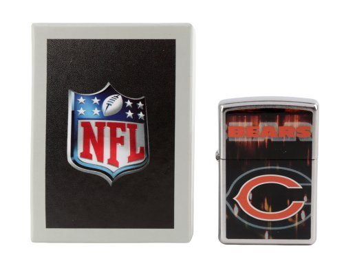 zippo-nfl-chicago-bears-street-chrome-pocket-lighter