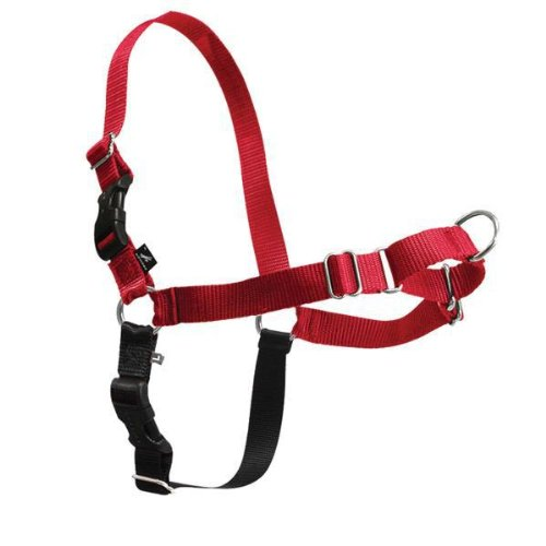 Easy Walk Harness - Red And Black Small