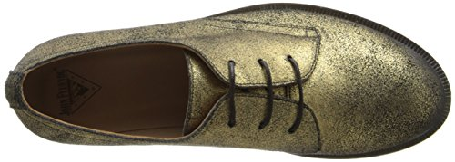 pictures of John Fluevog Women's Hadfield Oxford, Gold, 9 M US