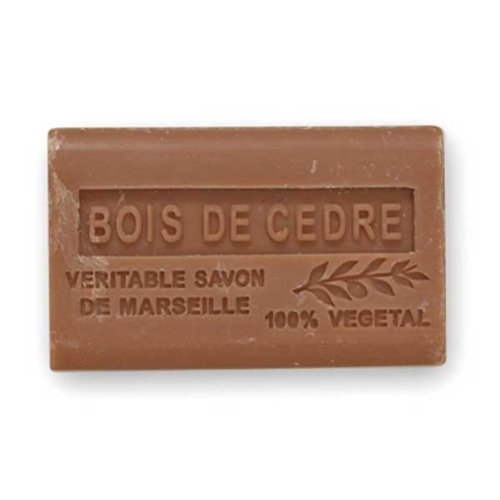 (南仏産マルセイユソープ)SAVON de Marseille シダーウッドの香り(SP054)(125g)