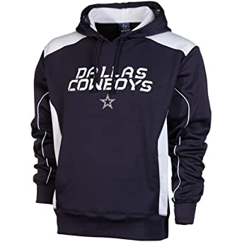 Amazon.com: Men's Dallas Cowboys Field Goal Hoodie Navy/White Size XX