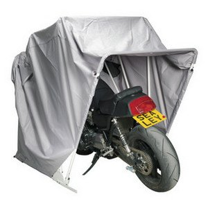 Sealey MS067 Motorcycle Storage Shelter with Solar Panel Pocket, Large