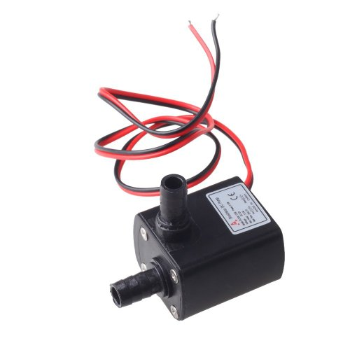 Huhushop(Tm) Dc30A-1230 12V Dc 2 Phase Cpu Cooling Car Brushless Water Pump Waterproof Submersible