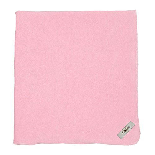 "My Blankee Organic Cotton  Jersey Knit Swaddle Baby Blanket, 47"" X 47"", Pink"