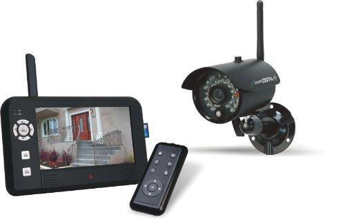 Digitale Funk - Überwachungskamera CS95DVR mit Aufzeichnungsfunktion, 4-Kanal