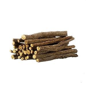 African Chew Sticks (Licorice Root) 1 Pound - 30-50 sticks!