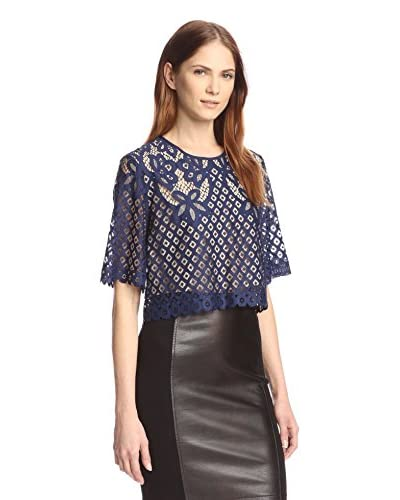 Allison Collection Women's Lace Crop Top