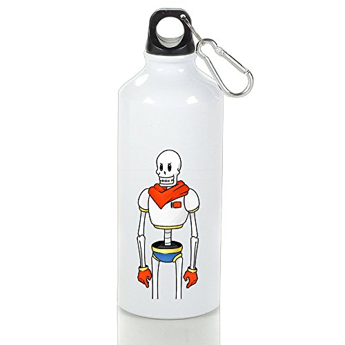 [DETED Seamless Undertale Papyrus Robot Drinkware Sport Water Bottle For Gym Travel Home Office Running Sport Outdoor] (Sims 3 Seasons Costumes)
