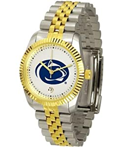 Penn State Nittany Lions NCAA Mens Steel Executive Watch by SunTime