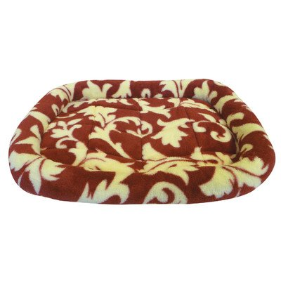 Precision Pet 5000 Bumper Bed For Pets, 45 By 32-Inch, Red Spa Print front-981224
