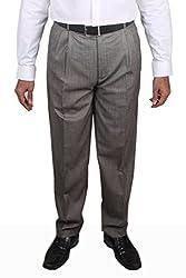 Maharaja Shirt KTR1672 2Pleat Polycotton Formal Trouser (Size - 40)