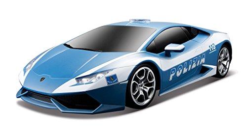Maisto 090159-811596 - Macchina con Radiocomando Lamborghini Huracan Polizia Scala 1:24
