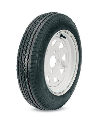Kenda Trailer Tire/Wheel Assembly - 4-Ply Rated/Load 
