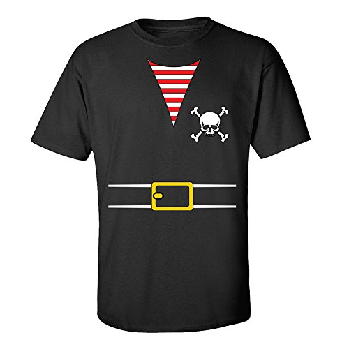 Pirates & Anchors - Pirate Outfit - Adult T-Shirt