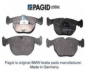 Amazon.com: 34216761248 BMW X5 M5 Z8 M3 Z4 REAR Brake Pad
