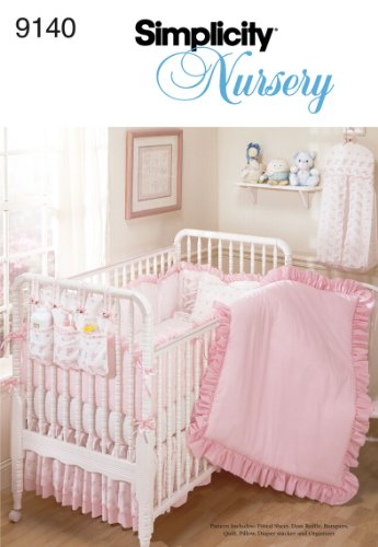 Simplicity Sewing Pattern 9140 Home Decorating, One Size (Baby Crib Bedding Sewing Patterns compare prices)