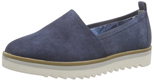 Marco Tozzi24702 - Mocassini Donna , Blu (Blau (NAVY ANTIC 892)), 39