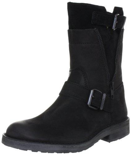 Cashott A7010 Combat Boots Womens Black Schwarz (Black 280) Size: 6.5 (40 EU)