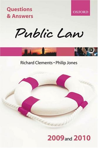 Q & A Public Law 2009 and 2010 (Blackstone's Law Questions and Answers)