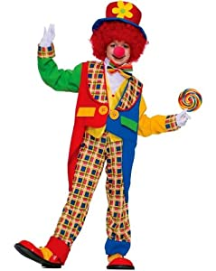 Clown on the Town Costume - Child Costume - Small(4-6)