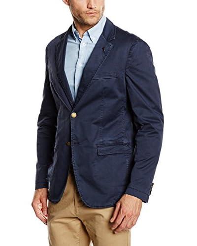 Trussardi Jeans Americana Hombre Azul Marino