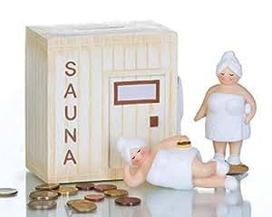 Spardose Sauna Saunakasse Geburtstagsgeld Geldgeschenk Saunaclub ...
