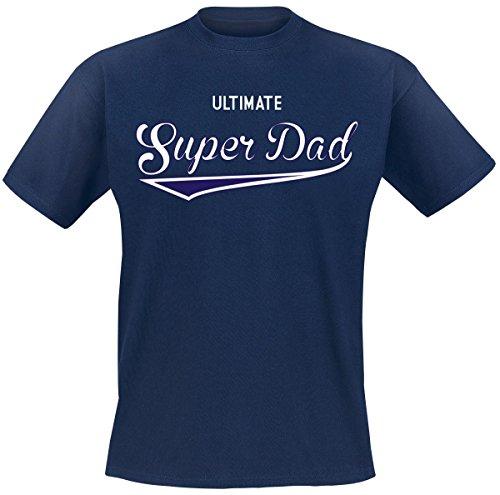 Ultimate Super Dad T-Shirt blu navy 3XL