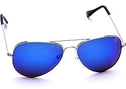 Optis Aviator Sunglasses (Silver) (SRSXC2L3)