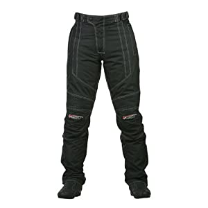 Spada Milan-Tex Pantalones Textil Damas Negras