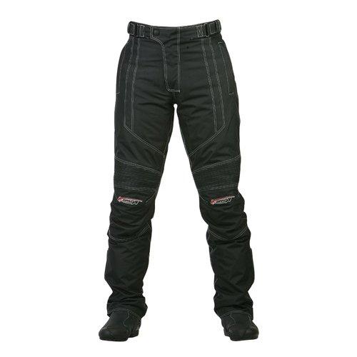 Spada Textile Pantalons Milan-Tex Noir Leg court