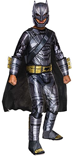 Rubie's Costume Batman v Superman: Dawn of Justice Armored Batman Deluxe Child Costume, Small