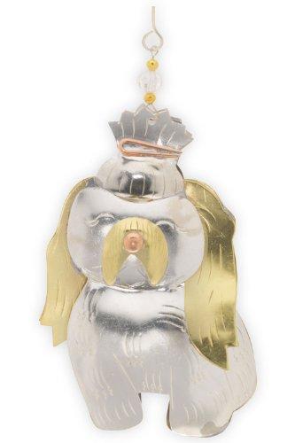 Pilgrim Imports Shi Tzu Metal Fair Trade Ornament