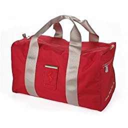 Ferrari microfiber travel bag red