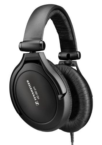 Sennheiser HD 380 Pro Collapsible High end Headphones - Black