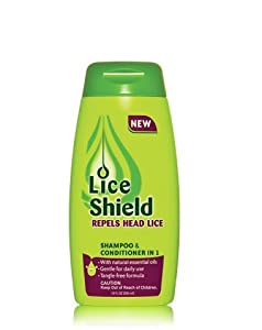 Lice Shield Shampoo and Conditioner In 1, 10 Ounce