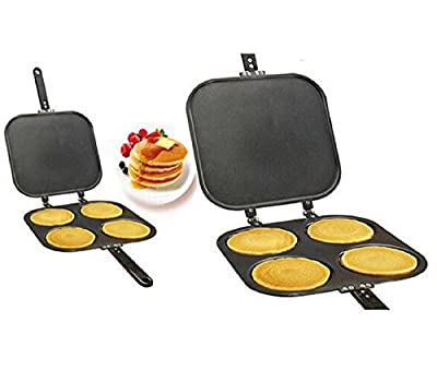 Non Stick Pancake Pan Flip Perfect Breakfast Eggs Omelette Flipjack Maker