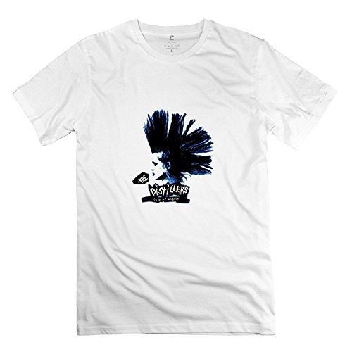 HUIMIN Men's Art The Distillers T-shirt (XXX-Large)