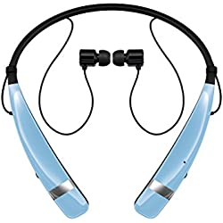 LG HBS-760 Tone Pro Bluetooth Wireless Stereo Headset (Blue) - Manufacturer Refurbished