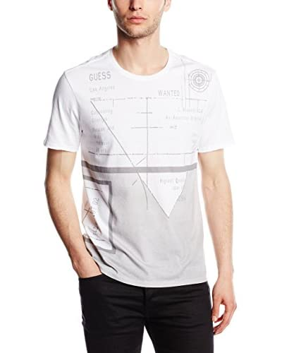 Guess Camiseta Manga Corta Blanco