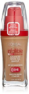 LOreal Paris Infallible Advanced Never Fail Makeup Sun Beige