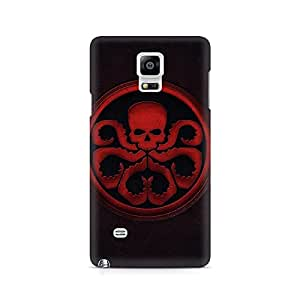Ebby Skuluctopus Premium Printed Case For Samsung Note 4 N9108